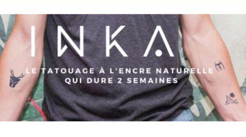 remise sur tout le site Inka Paris tatouage éphémère à l'encre d'origine naturelle