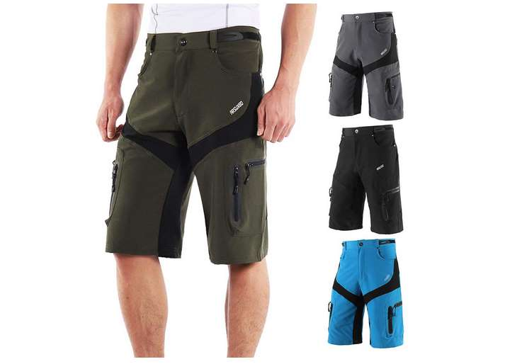 short long outdoor Lixada homme 6 poches