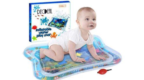 tapis d'activité bebe à eau et gonflable Decdeal