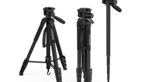 trépied professionnel pour appareil photo Andoer