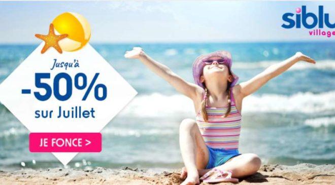 vacances en bord de mer en juillet jusqu'à -50% avec Siblu Villages