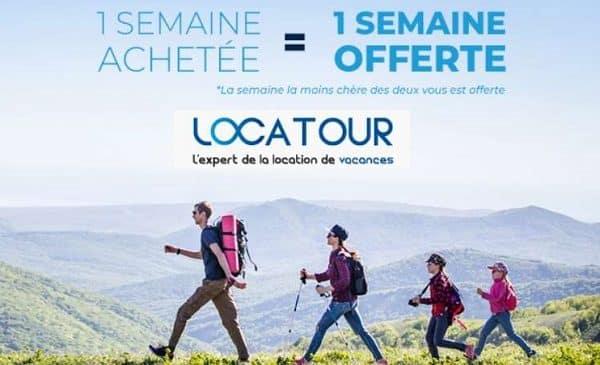 1 semaine réservée = 1 semaine offerte avec Locatour cet été (montagne)