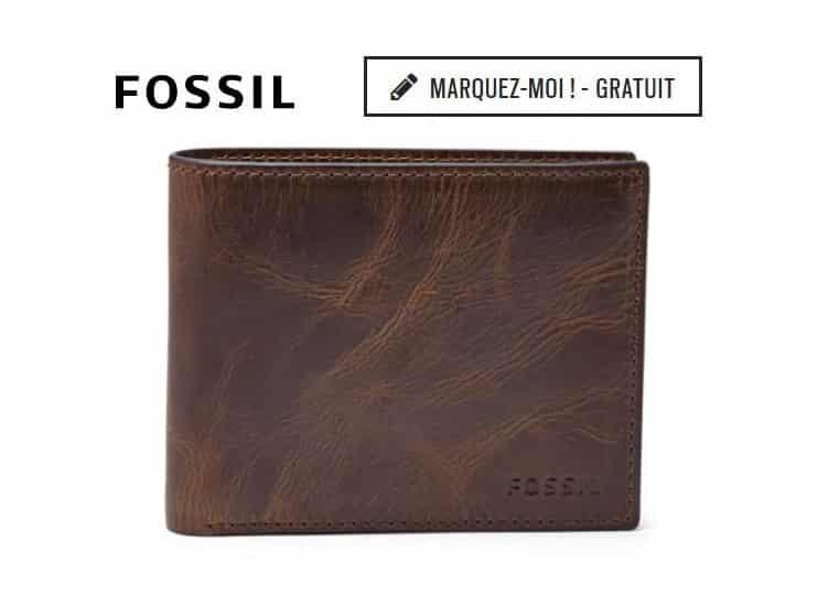 30% de remise sur la maroquinerie FOSSIL