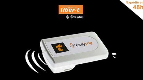 7 mois d'abonnement télépéage offerts et livraison et activation gratuite du badge Easytrip