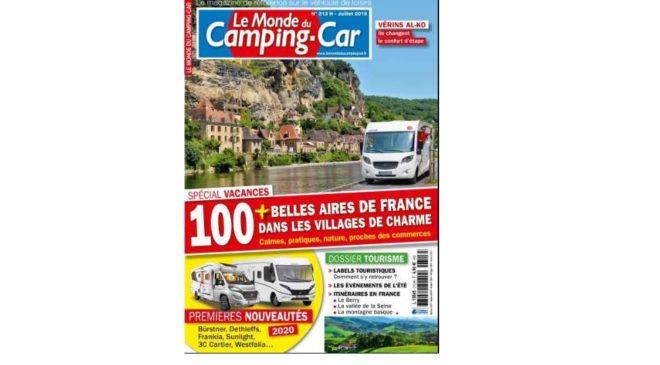 Abonnement Le Monde du Camping-Car magazine pas cher