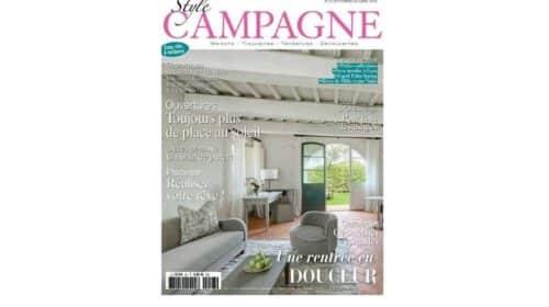 Abonnement magazine Style Campagne pas cher