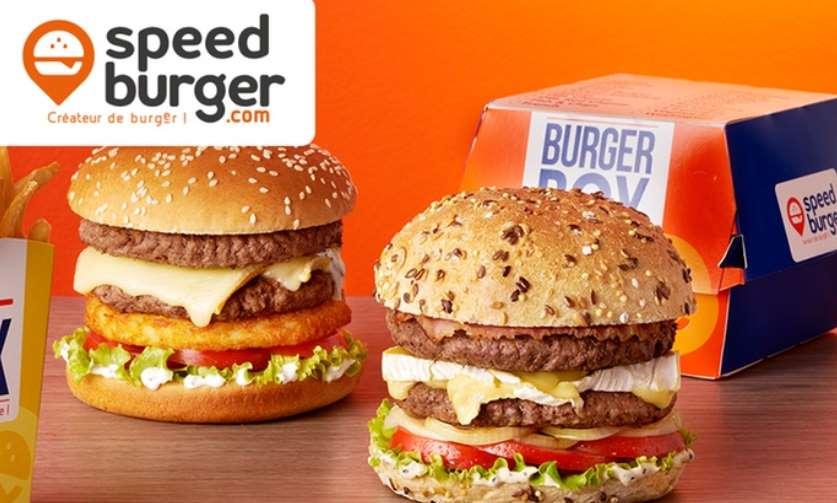 Bon achat Speed Burger 1 menu acheté = 1 menu gratuit