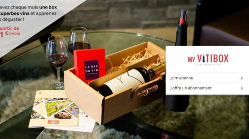 Box My Vitibox à offrir ou abonnement pas cher