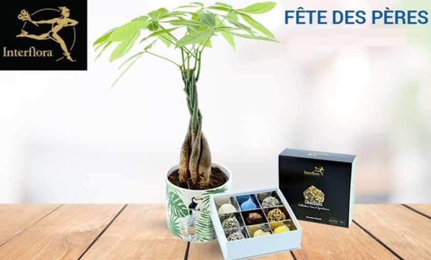 FETE DES PÉRES bon d'achat Interflora