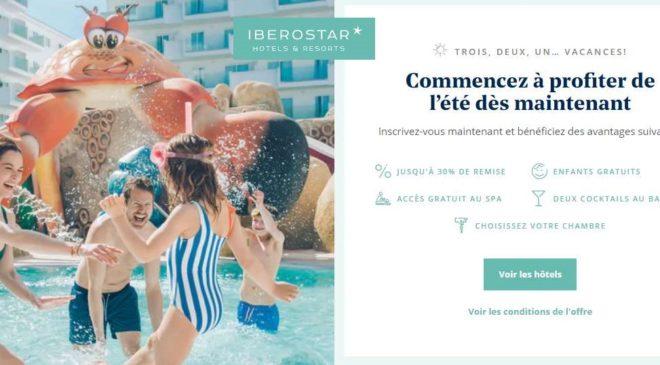 Offre séjour été Iberostar Hotels
