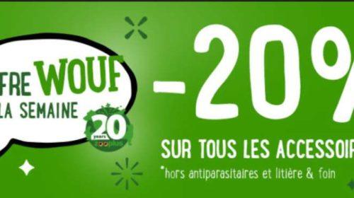 Offre spéciale Zooplus remise sur tous les accessoires pour animaux