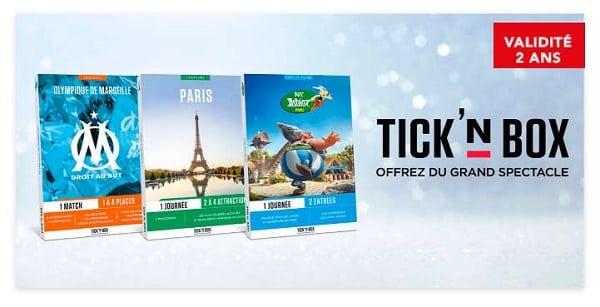 Offrez Des Places De Matchs Avec Les Coffrets Cadeau Tick&box Moins Chers