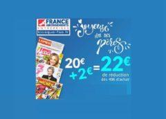 Offrez un abonnement magazine pour la fête des pères avec une remise exceptionnelle de 22€ 🎁
