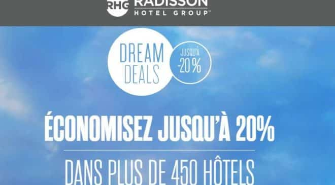Réduction hôtel Radisson