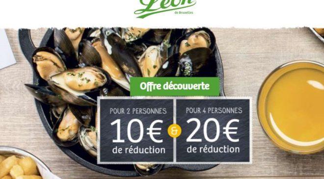 Remises sur addition Léon de Bruxelles