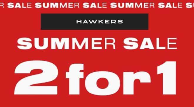 Soldes Hawkers 1 paire de lunette de soleil achetée = 1 gratuite