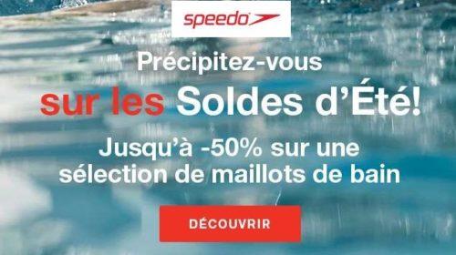 Soldes Speedo remise sur des articles de natation