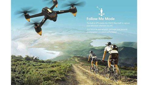 drone Goolsky Hubsan H501S avec GPS pour fonction Follow me