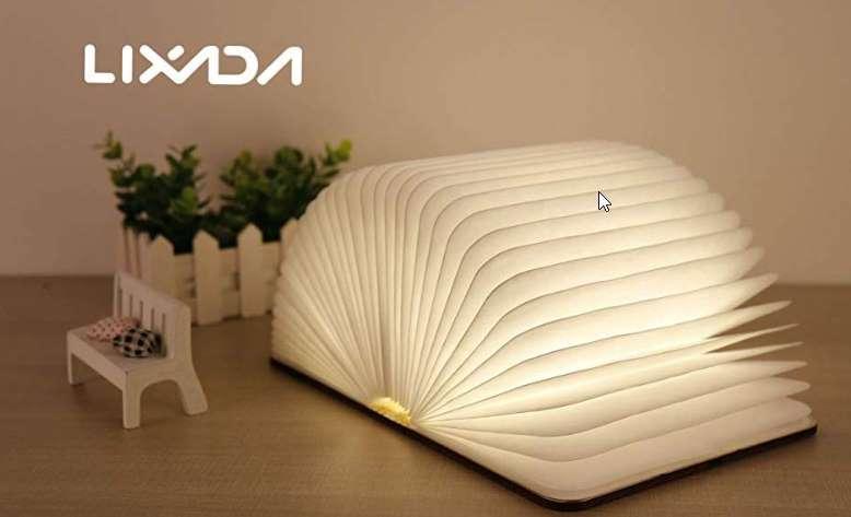 lampe livre sur batterie