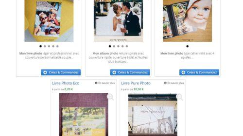 réduction sur tous les livres photos du site Foto