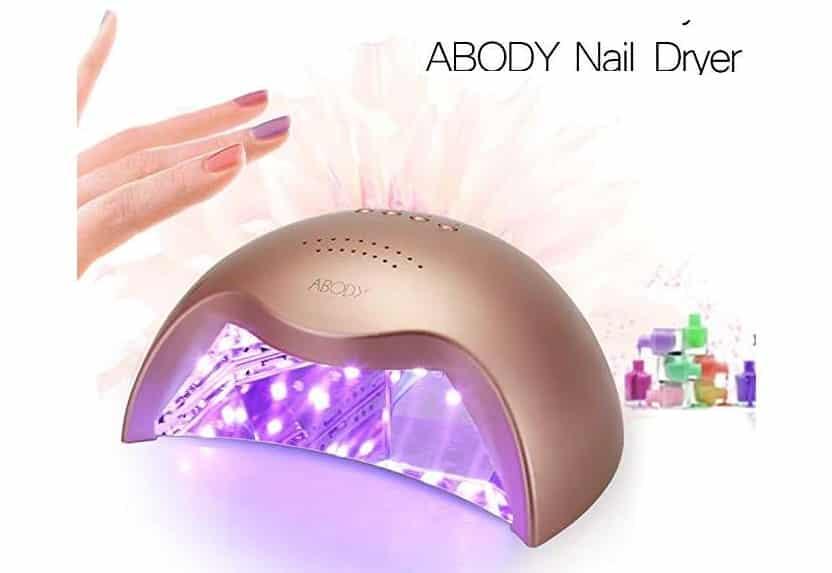 sèche ongle double lumière UV + LED Abody