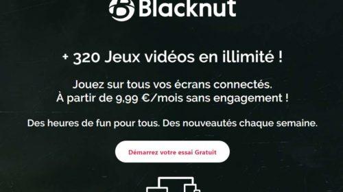 14 jours gratuits à Blacknut
