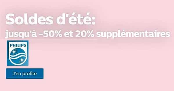 20% De Remise Supplémentaire Sur Les Soldes Philips