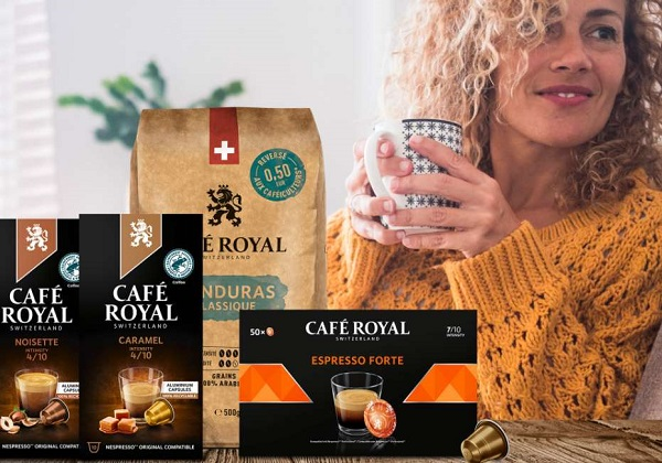 25% de réduction sur vos achats sur le site café royal sans minimum