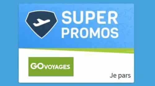 30€ de remises sur votre billet d'avion en réservant sur Go Voyages