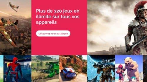 320 jeux vidéo en illimité sur tous vos PC, tablette, smartphone, smartTV