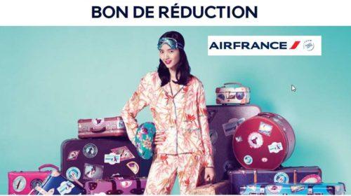60€ de remise sur un vol Air France sur certaines destinations
