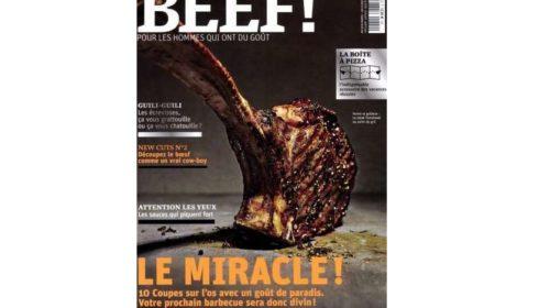 Abonnement magazine BEEF ! pas cher