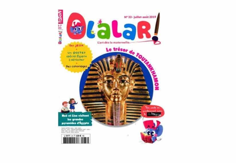 Abonnement magazine Olalar pas cher