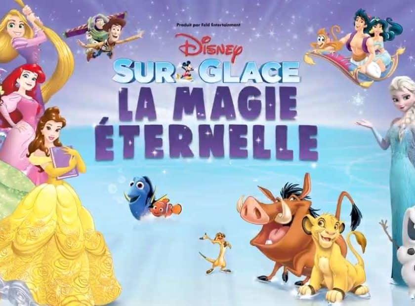Billet pour Disney sur Glace La Magie Éternelle pas cher