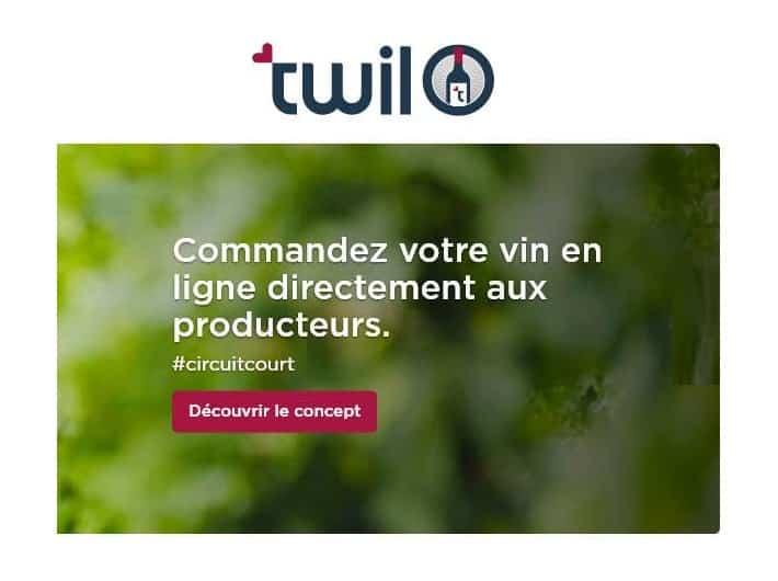 Commandez votre vin en ligne directement auprès de petits producteurs sur Twil