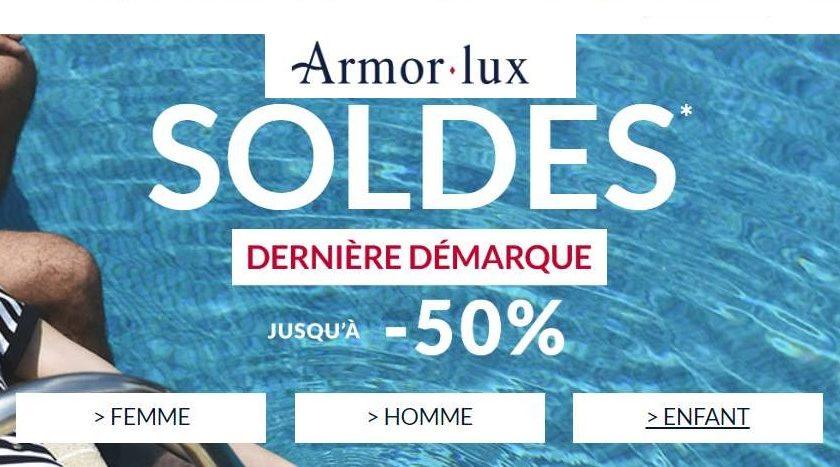 Dernière démarque des soldes Armor Lux