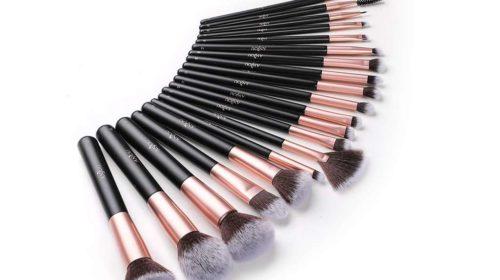Kit de 20 pinceaux de maquillage Anjou
