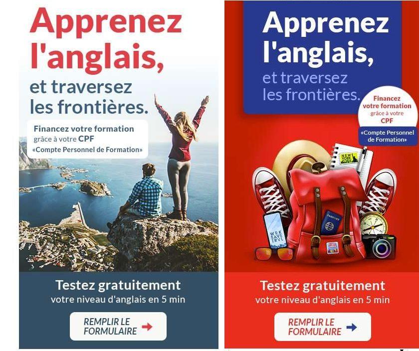 Le Comptoir des Langues test de niveau d'anglais gratuit méthode d'apprentissage 2x plus rapide