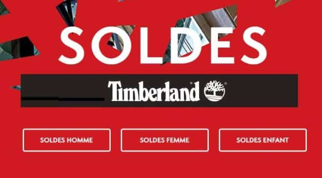 Les soldes Timberland