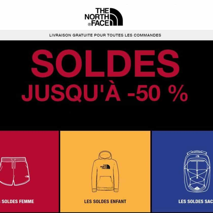 Nouvelle démarque The North Face