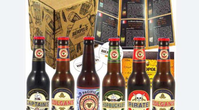 Offre abonnement box bières artisanales Bieropolis