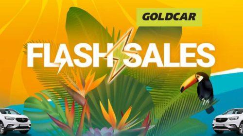 Offre flash location de voiture Goldcar