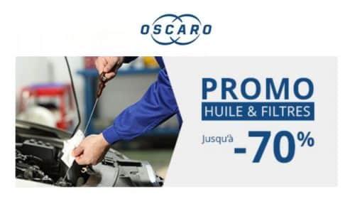 Offre spéciale huiles moteur sur Oscaro