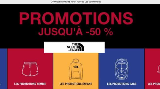 Promotions The North Face