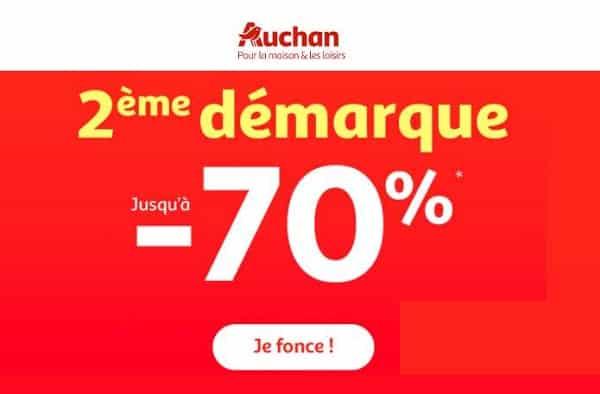Soldes Auchan C'est La Deuxième Démarque