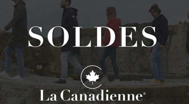 Soldes La Canadienne vêtements cuir, peau, daim