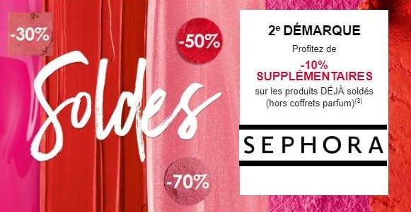 Soldes Sephora Jusqu'à 70% + 10% Supplémentaire