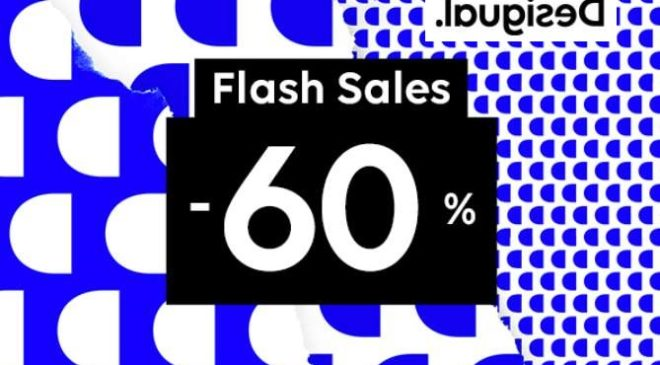 Vente flash Desigual tout à -60%