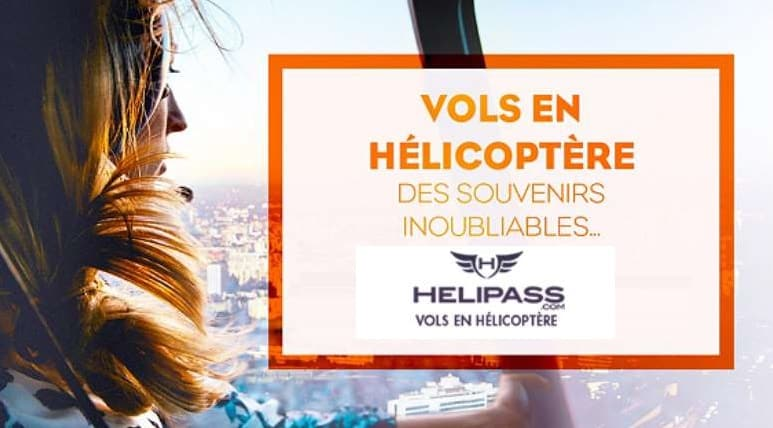 Vente privée Helipass : balade en hélicoptère en France pour moins cher