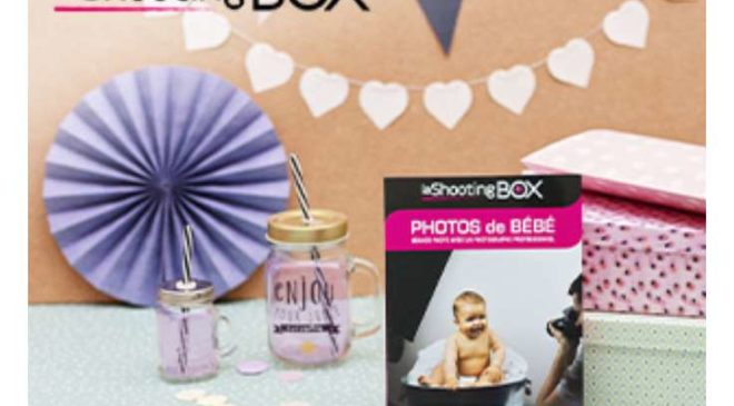 Vente privée LaShootingBOX coffrets de séance photo Famille, Bébé ou Grossesse